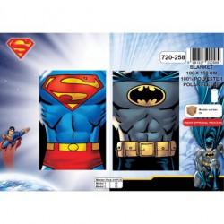 Plaid Polaire Superman et...