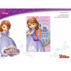 Plaid polaire Sofia Disney...