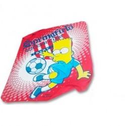 Plaid Polaire Simpsons -...