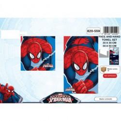 Set de 2 serviettes Spider...