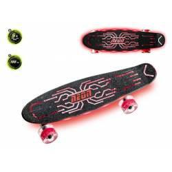 Skateboard Neon Hype Rouge...