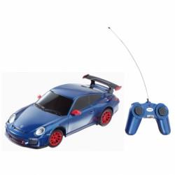 Radiocommandée Porsche Bleu...